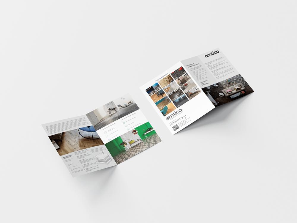 Layout of catalogs, leaflets, fliers