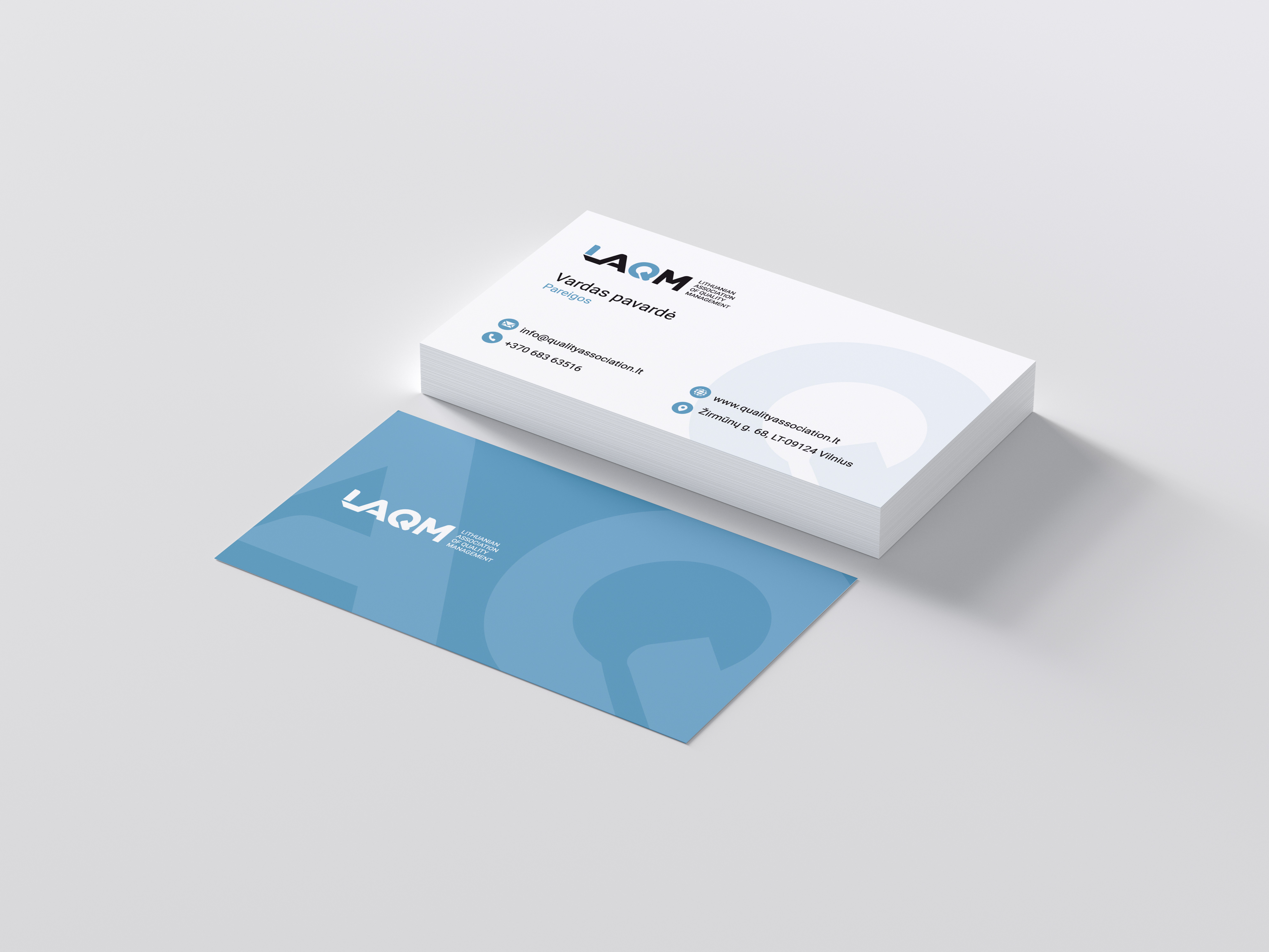 Business card design and printing