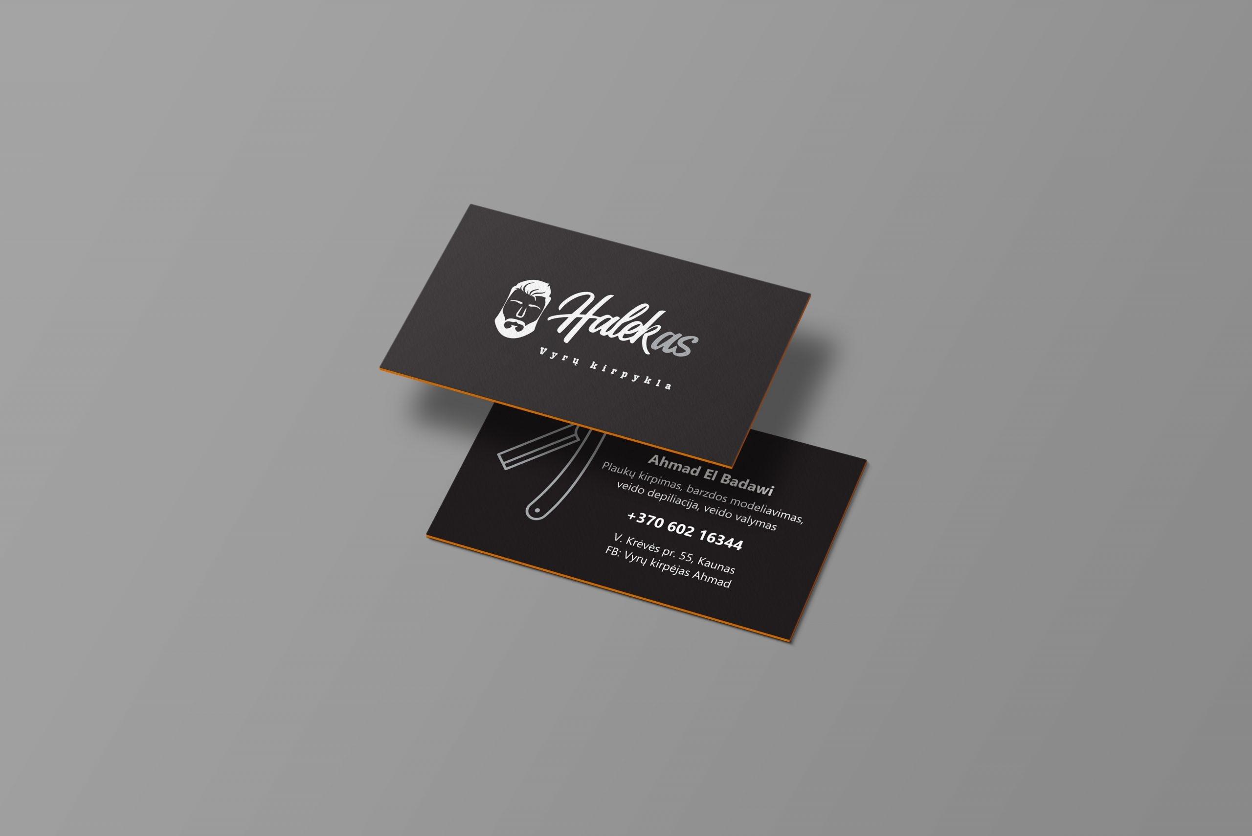 Visit card design and printing